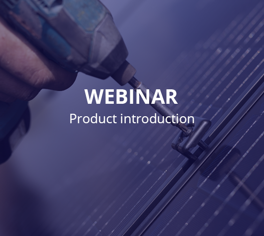 Webinar product introduction